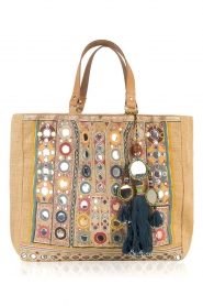 Star Mela | Jute shopper Pinki | naturel  | Afbeelding 1