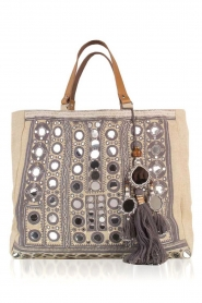 Star Mela | Jute shopper Pinki | grijs  | Afbeelding 1
