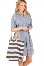 Star Mela | Shopper Riley| blauw  | Afbeelding 2