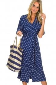Star Mela | Shopper Riley | blauw  | Afbeelding 2