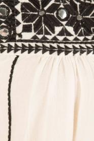 Star Mela | Geborduurde jurk Samta | naturel  | Afbeelding 5