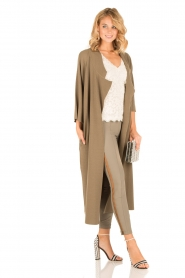 ELISABETTA FRANCHI | Skinny pantalon Milano | groen  | Afbeelding 3