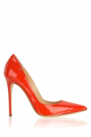 Leather pumps Adine | red