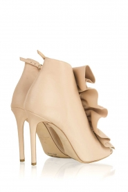 ELISABETTA FRANCHI |  Leather peep-toes Evi | nude  | Picture 5