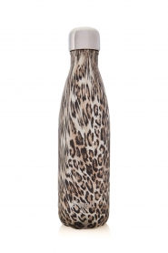 S'well Bottle | Thermosfles warm/koud Khaki cheetah 500 ml | luipaard  | Afbeelding 2
