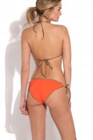 Tooshie | Reversible triangelbikini Hampton | beige/oranje  | Afbeelding 3