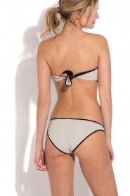 Tooshie | Reversible bandeau bikini Hampton | beige/ zwart  | Afbeelding 4