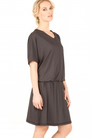 Sunday in Bed |  Chemise Rachel | dark grey  | Picture 4