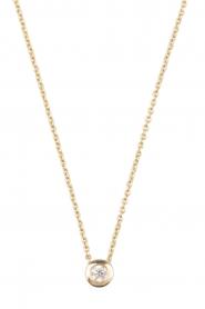 14k gouden ketting Diamond | goud