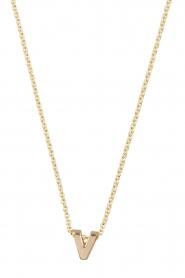 Just Franky |  14k gold necklace length 40 cm | yellow gold  | Picture 1