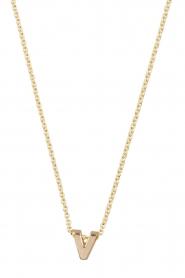 Just Franky | 14k gouden ketting lengte 40 cm | goud  | Afbeelding 2