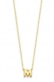 Just Franky | 14k gouden ketting lengte 42 cm | geelgoud  | Afbeelding 1