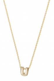 Just Franky |  14k gold necklace length 45 cm | gold  | Picture 1