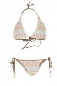 Mitos | Hand gehaakte bikini Cyclades | print  | Afbeelding 1