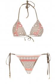 Mitos | Hand gehaakte bikini Ariadne | print  | Afbeelding 1