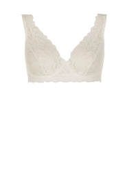 Hanro |  Lace soft cup Moments | white