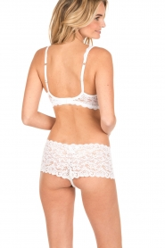 Hanro |  Lace soft cup Moments | white  | Picture 4