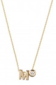 Just Franky |  14k golden necklace length 44 cm | gold  | Picture 1