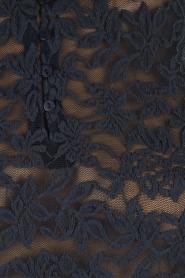 Rosemunde | Top Lace | indigoblauw  | Afbeelding 6