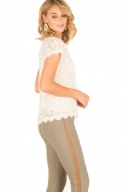 Rosemunde | T-shirt Lace | ivoor  | Afbeelding 4