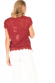 Rosemunde | T-shirt Lace | rood  | Afbeelding 5