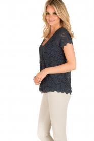 Rosemunde | T-shirt Lace | blauw  | Afbeelding 4