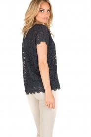 Rosemunde | T-shirt Lace | blauw  | Afbeelding 5
