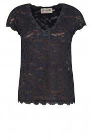 Rosemunde | T-shirt Lace | blauw  | Afbeelding 1