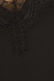 Rosemunde | Onderjurk met kant Melanie | zwart  | Afbeelding 5