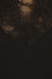 Rosemunde | Zijden top Bertine | zwart  | Afbeelding 6