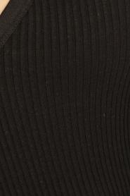 Rosemunde | Zijden top Belle | zwart  | Afbeelding 5
