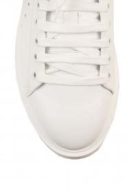 Morobé | Leren platform sneaker Cannes | wit  | Afbeelding 5