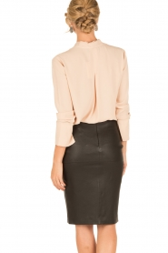 By Malene Birger |  Lamb leahter skirt Floridia | black  | Picture 5