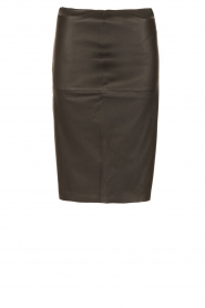 By Malene Birger |  Lamb leahter skirt Floridia | black  | Picture 1