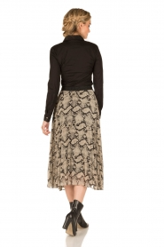 By Malene Birger |  Pleated skirt Wikumedi | print  | Picture 5