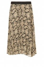 By Malene Birger |  Pleated skirt Wikumedi | print  | Picture 1