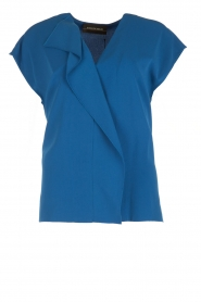 By Malene Birger |  Blouse Tobiso | blue  | Picture 1