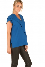By Malene Birger |  Blouse Tobiso | blue  | Picture 4