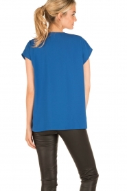 By Malene Birger |  Blouse Tobiso | blue  | Picture 5