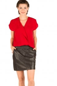 By Malene Birger | Blouse Tobiso | rood  | Afbeelding 2