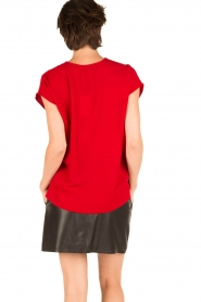 By Malene Birger | Blouse Tobiso | rood  | Afbeelding 5