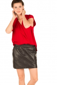 By Malene Birger | Blouse Tobiso | rood  | Afbeelding 6