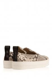 By Malene Birger | Leren sneakers Wandes | multi  | Afbeelding 4
