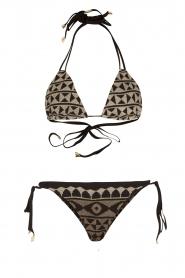 Mitos |  Hand-crocheted bikini Chia | print  | Picture 1