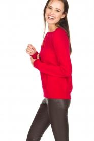 BLAUMAX   Kasjmier trui Kiara   rood    Afbeelding 4