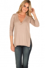 Blaumax |  Sweater Matera | brown  | Picture 2