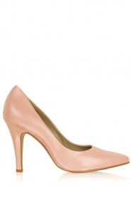 Noe |  Leather pumps Nicole | pink  | Picture 1