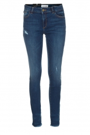 Skinny jeans Florence | Blauw