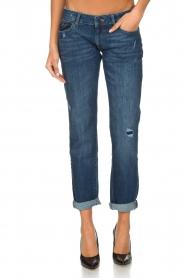 DL1961 | Boyfriend jeans Riley | Blauw  | Afbeelding 2