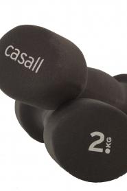 Casall | Neopreen halters 2x 2KG | zwart  | Afbeelding 3